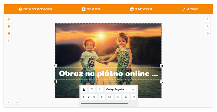 Fotoobraz na plátno online