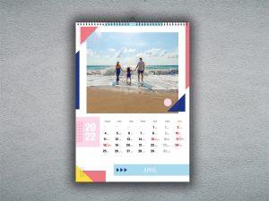 Nástenný mesačný kalendár A4 / A3
