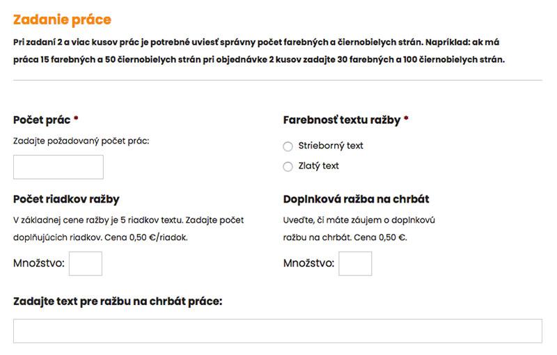 Diplomové práce online Žilina