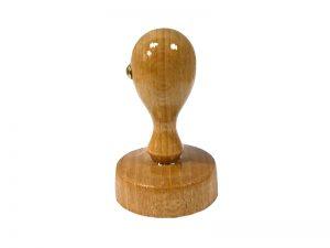 Okrúhle drevené pečiatky