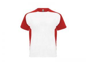Tréningové tričko Bugatti biele farebný lem